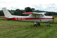 G-BFZU @ EGCW - Cessna 152 on 2009 Welshpool Air Day