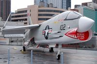 145550 @ NEW YORK - Vought F-8K Crusader - by Hannes Tenkrat