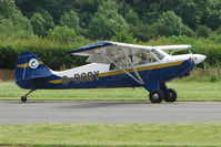 G-DOGY @ EGCW - Aviat A-1B displaying on 2009 Welshpool Air Day