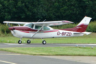 G-BFZD @ EGCW - Visiting Cessna 182 on 2009 Welshpool Air Day