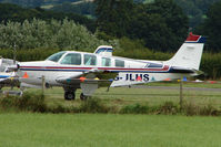 G-JLHS @ EGCW - Visiting Beech Bonanza A36  on 2009 Welshpool Air Day