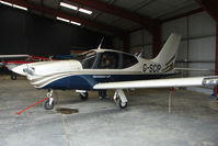 G-SCIP @ EGCW - Socata TB20 hangared on 2009 Welshpool Air Day