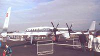 N1508S @ EGLF - Beechcraft 2000 Starship 1 at Farnborough International 1990