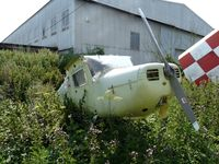 G-BTBV - In a sorry state at Little Staughton - by Andy Parsons