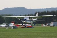 D-EDCQ @ EDMT - Reims F172N Skyhawk 100 II - by Juergen Postl