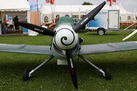 D-MYME @ EDMT - Peak Messerschmitt BF109 R Replica - by Juergen Postl