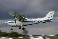 D-EEFR @ EDMT - Reims / Cessna F.172M - by Juergen Postl