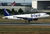 AP-EDA @ LFBO - Landing rwy 14R after photo test flight with Airbus... First A320 for Air Blue - by Shunn311