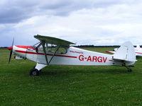 G-ARGV @ X4PK - Wolds Gliding Club at Pocklington Airfield - by Chris Hall