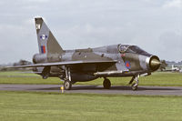 XS459 @ EGXB - RAF Binbrook during the mid eighties