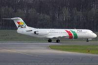 CS-TPC @ ELLX - Portugalia Fokker100 - by FBE