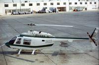 N101DG @ HOU - Bell JetRanger seen at Houston Hobby in October 1979. - by Peter Nicholson