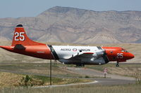 N925AU @ KGJT - Lockheed P-3A - by Mark Pasqualino