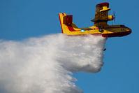 C-GCSX @ HAYRIVER - Buffalo Airways CL215