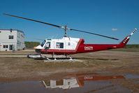 C-GJLV @ CYOJ - Delta Helicopters Bell 204
