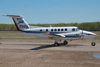 C-FPQQ @ CYOJ - Alberta Air Ambulance Beech King Air - by Dietmar Schreiber - VAP