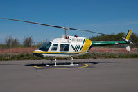 C-GNMT @ CYXJ - VIH Helicopters Bell 206