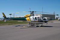 C-FXHS @ CYXJ - VIH Helicopters AS350