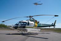 C-GNMJ @ CYXJ - VIH Helicopters AS350 - by Dietmar Schreiber - VAP