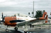 140589 @ HRL - T-28C Trojan of Training Squadron VT-27 at the 1978 Confederate Air Force Airshow at Harlingen. - by Peter Nicholson
