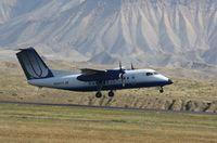 N454YV @ KGJT - DHC-8-200 - by Mark Pasqualino