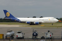 G-GSSB @ EGSS - Global Systems B747 at home base of Stansted
