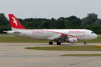 CN-NMB @ EGSS - Air Arabia A320 at Stansted