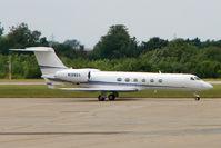 N128GV @ EGSS - Gulfstream V at Stansted
