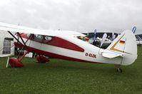 D-ELDL @ EDMT - Private Fairchild 24W-41A Argus 2 - by Delta Kilo