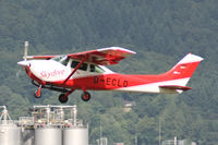 D-ECLO @ EDTF - Reims / Cessna F182 - by J. Thoma