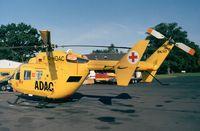 D-HDAC @ EDKB - MBB/Kawasaki BK.117A-4 Christoph6 of ADAC Luftrettung EMS at Bonn-Hangelar airfield - by Ingo Warnecke