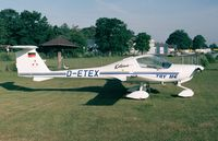 D-ETEX @ EDKB - Diamond DA.20-A1 Katana at Bonn-Hangelar airfield - by Ingo Warnecke