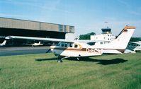 D-EEAS @ EDKB - Cessna P.210N Pressurised Centurion at Bonn-Hangelar airfield - by Ingo Warnecke
