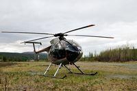 C-GREP - Refueling Stop On Denali Highway - by Bob Balestri