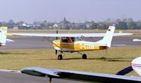 D-ECDB @ EDKB - Reims / Cessna F.150K at Bonn-Hangelar airfield - by Ingo Warnecke
