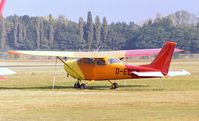 D-ECEZ @ EDKB - Reims / Cessna F.172H Skyhawk at Bonn-Hangelar airfield - by Ingo Warnecke