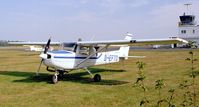 D-EFTO @ EDKB - Reims / Cessna F.152 at Bonn-Hangelar airfield - by Ingo Warnecke