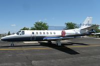 C-GTGO @ KAXN - Canadian Citation in town today, thats a first to me! - by Kreg Anderson