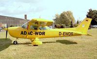 D-EWDR @ EDKB - Cessna 172P Skyhawk operated on behalf of ADAC (german automobile club) and WDR (regional radio broadcasting station) for traffic surveillance from Bonn-Hangelar airfield - by Ingo Warnecke