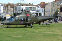 H45 - Belgian Air Force A109BA at Helidays 2009 at Weston-Super-Mare