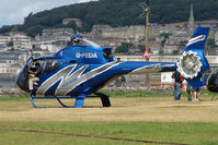 G-FEDA - Attractive EC120B visitor on Day 1 of Helidays 2009 at Weston-Super-Mare seafront