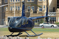 G-PGGY - R44II  visitor on Day 1 of Helidays 2009 at Weston-Super-Mare seafront