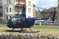 G-PAMY - R44II  visitor on Day 1 of Helidays 2009 at Weston-Super-Mare seafront