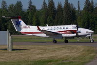 C-FRLD @ CYQZ - Beech 300 King Air