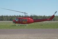 C-GFHA @ CYWL - Tasman Helicopters Bell 205 - by Dietmar Schreiber - VAP