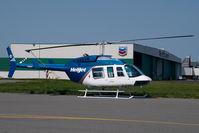 C-GXHJ @ CYVR - Helijet Bell 206