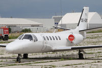 OE-GRD @ LNZ - Cessna 550 Citation II - by Juergen Postl