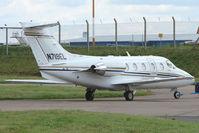 N719EL @ EGNX - Beechjet  400A at EMA