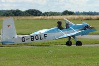 G-BGLF @ EGBG - Evans VP-1 at Leicester on 2009 Homebuild Fly-In day