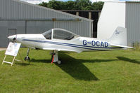 G-OCAD @ EGBG - Falco F8L at Leicester on 2009 Homebuild Fly-In day
